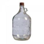 Бутыль стеклянная Лоза, 5 л (с ручкой)
