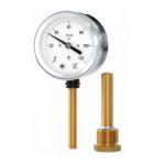 Термометр биметаллический радиальный вертикальный