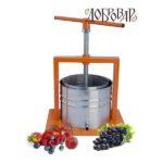 Пресс фруктово-ягодный настольный 5л трапецеидальная резьба